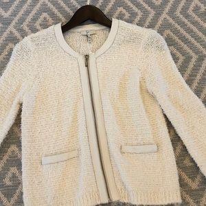 Joie Tweed Porcelain Jacket